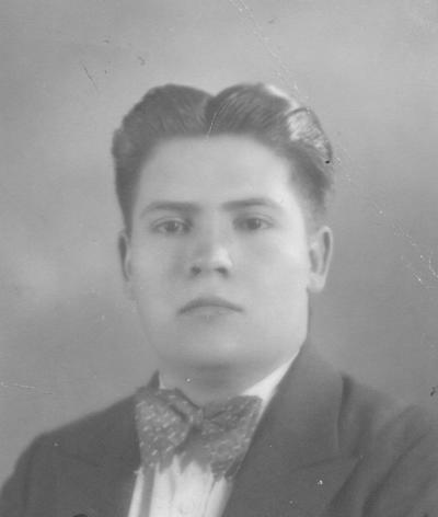 10062018 Armando Juárez el 18 de marzo de 1933.