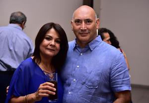 Claudia Ramírez y Javier Pedroza