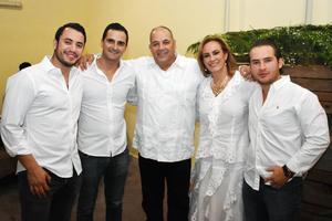 Luis  Ricardo  Ricardo  Ana Karina y Sedrik