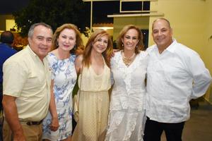 Ricardo  Veronica Rasa Alba  Ana Karina y Ricardo