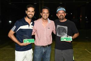 Eduardo Ruiz  Mario Jaidar y Armando Rodriguez