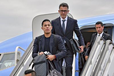 México llegó a Rusia a primera hora de la mañana, hora nacional.