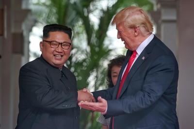 La primera etapa de la histórica cumbre tuvo una duración de 48 minutos.
