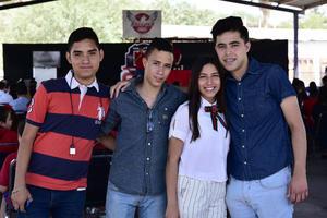 12062018 Daniel, Isidro, Kimberly y Jesús.