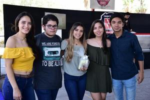 12062018 Ashley, Víctor, Lorena, Melissa y Zahul.