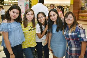 12062018 Hanna, Paula, Gisele, Camila y Marifer.