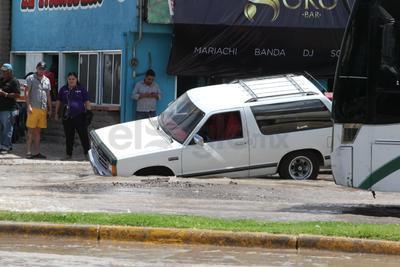 La dependencia municipal informó que las reparaciones ya comenzaron y esperan concluir hoy mismo.