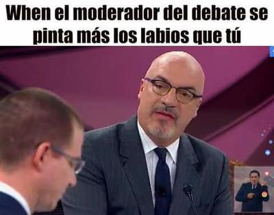 Terminan los debates, pero no los memes