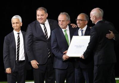 Norteamérica organizará el Mundial de 2026, el primero con 48 selecciones, tras triunfar la candidatura conjunta de México, Estados Unidos y Canadá sobre la de Marruecos.