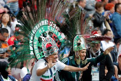Así viven los mexicanos la fiebre del Mundial.