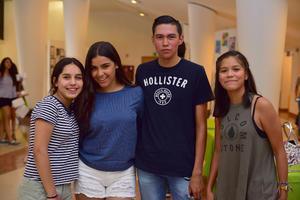 14062018 Bárbara, Sofía, Manuel y Génesis.
