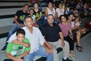 14062018 Familias Martínez Padilla, De Anda González, Vázquez Ávila, Molina Díaz y Recio Rivas.