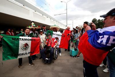 Matamoros Tamaulipas, presente en Rusia