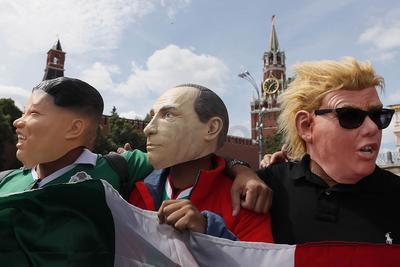 Tres líderes mundiales, presentes en la inauguración