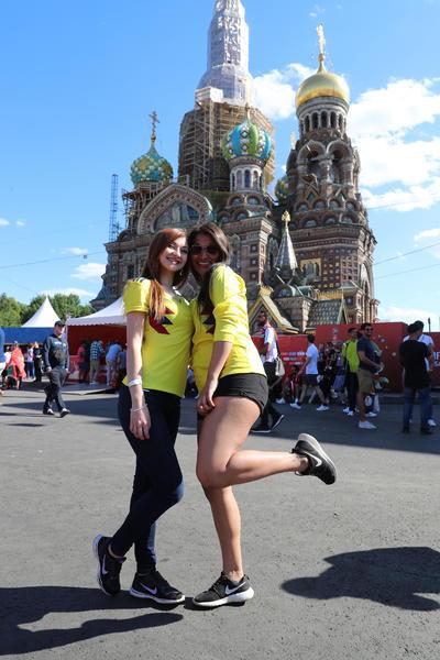 Las bellezas presentes en Rusia 2018