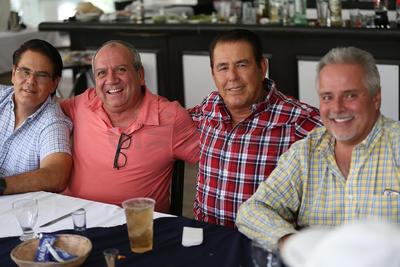 Convivencia entre golfistas del Club Campestre