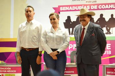 Debaten candidatos al Senado por Coahuila en Torréon