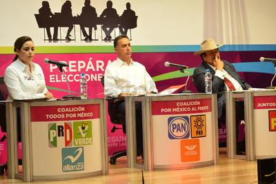 Debatieron candidatos al Senado por Coahuila.