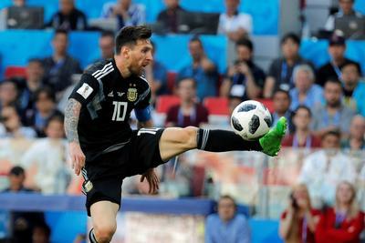 Messi falló penales.