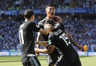 Sergio Agüero hizo puntuar un potente zurdazo a los 19 minutos.