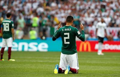 Ayala fue una de las grandes sorpresas de Osorio en el esquema inicial.