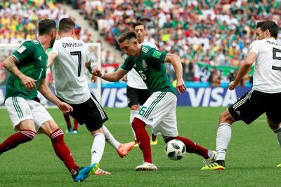 Héctor Herrera orquestó el contragolpe en que se firmó el único gol del partido.