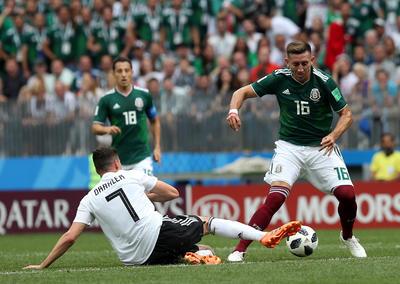 Herrera fue de los más destacado en el partido.