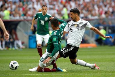 Los alemanes no pudieron ante la dura marca del Tricolor.