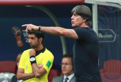 Löw no entendía la inferioridad de su equipo, el campeón del Mundo.