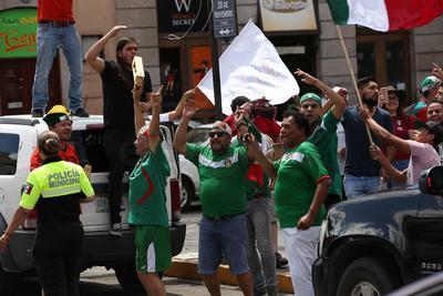 México quedó 1-0, derrotando a Alemania.