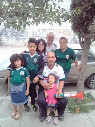 Familia Martínez Morales.
