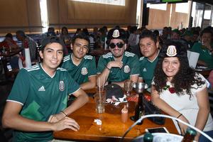 18062018 Antonio, Fernando, Daniel, Miguel y Alicia.