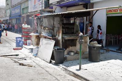 El negocio está ubicado sobre la calle Rodríguez, casi esquina con avenida Morelos.