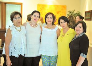 19062018 Lupita, Marisol, Carmen, Gris e Irma.