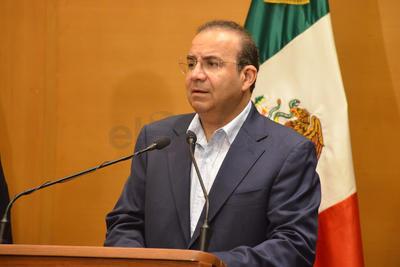El secretario de Gobernación destacó que es el primer convenio de su tipo.