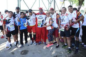 20062018 EN RECIENTE CARRERA.  Irma, Martín, Daniel, Gabriel, José, Roberto, Enrique, Alfredo y Tino.