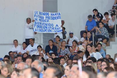 Así lo recibieron en Torreón.