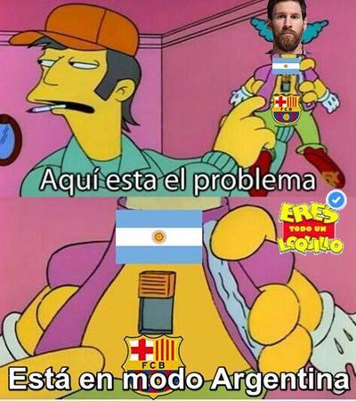 Llegan los memes de la derrota de Argentina