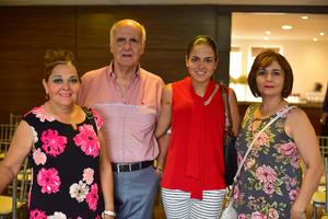 22062018 Silvia, Jesús, Melissa e Irma.