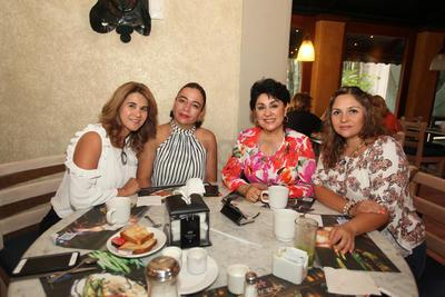 Aracely Diez, Lorena Campos, Paty Martínez y María Fernanda García.
