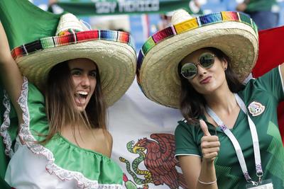 Afición mexicana se hace sentir en Rostov