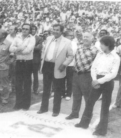 24062018 Al iniciar la serie de beisbol con los Algodoneros del Unión Laguna.