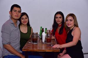 25062018 Kevin, Eréndira, Paty y Karen.