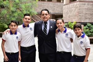 24062018 José Manuel, Leonardo, Amaury, Diego y David.
