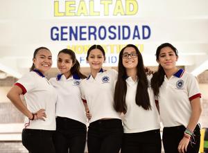 24062018 Ariadne, Paola, Gaby, Juanita y Fátima.