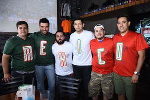 25062018 Ricky, Edgar, Eder, Sergio, Max y Rodolfo.