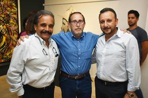 Cesar Carlos y Salvador