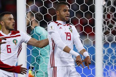 Youssef En-Nesyri ponía la diferencia entre España y Marruecos.