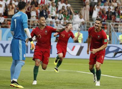 Ricardo Quaresma abrió el marcador ante Irán con una soberbia definición.