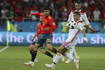 España y Marruecos disputaron un gran partido.
